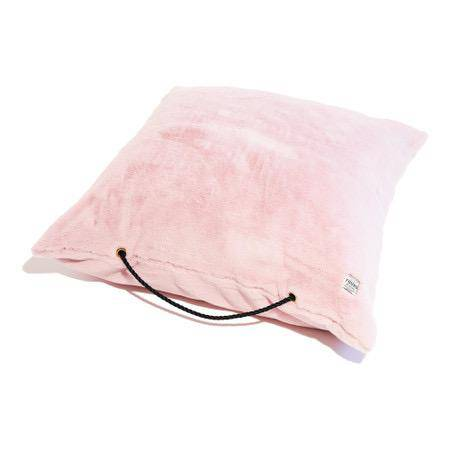 Blush Pink - Faux Fur Bed - Holler Brighton