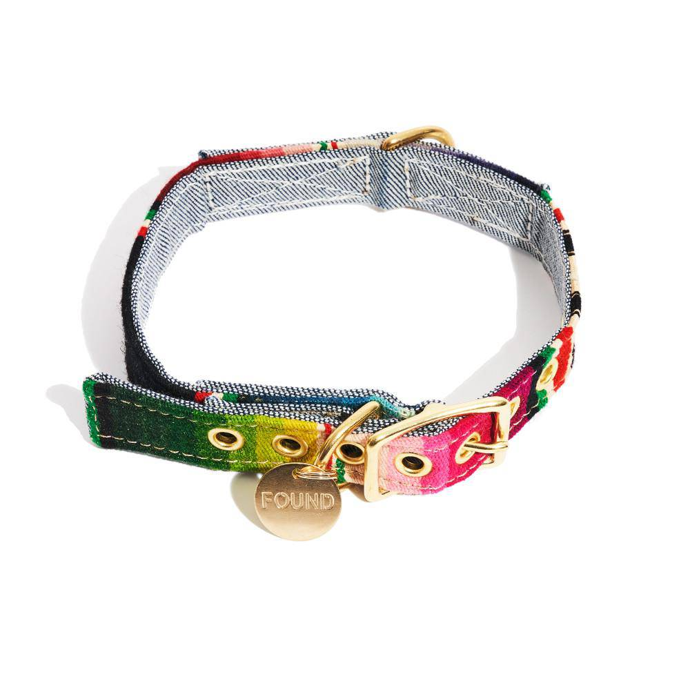 Multi colour - Vintage Style Collar - Holler Brighton