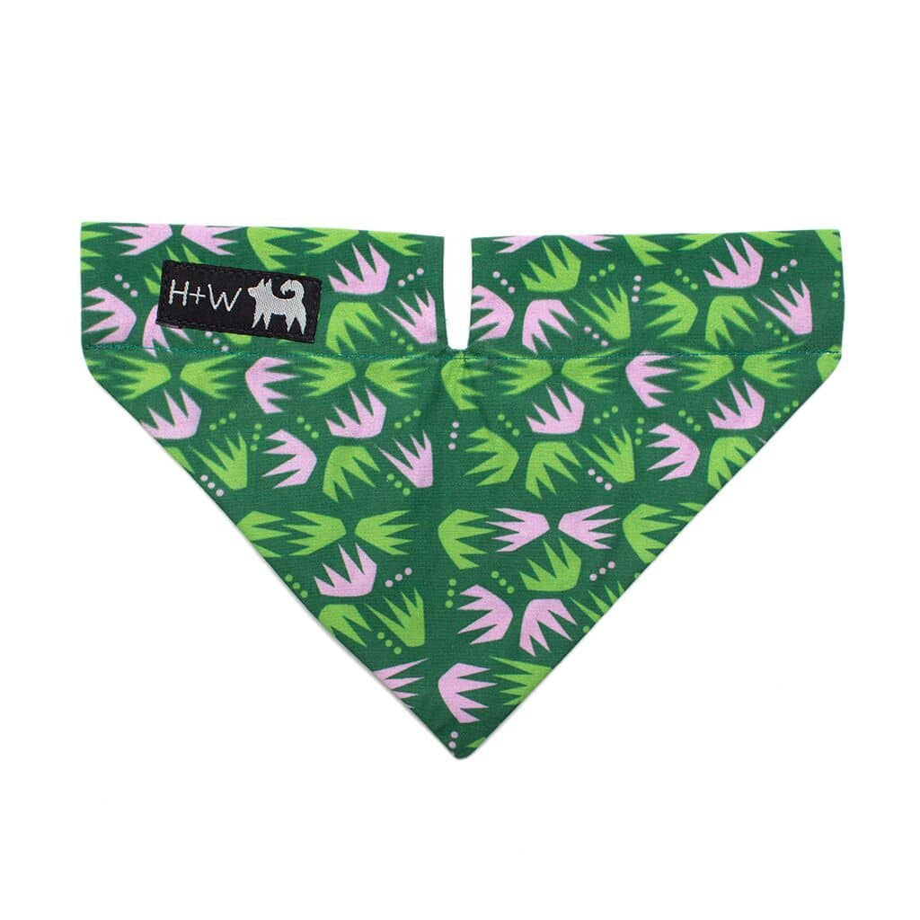 Green & Pink Combs Bandana - Holler Brighton