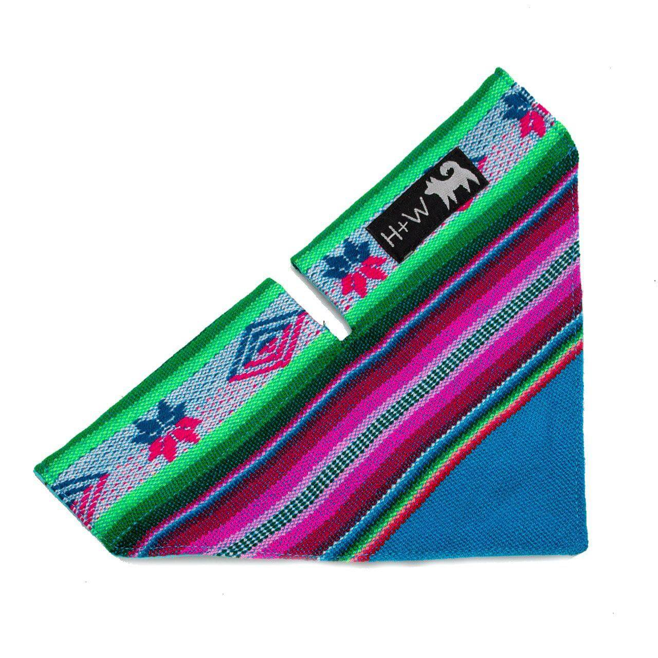 Inca Blue Bandana - Holler Brighton