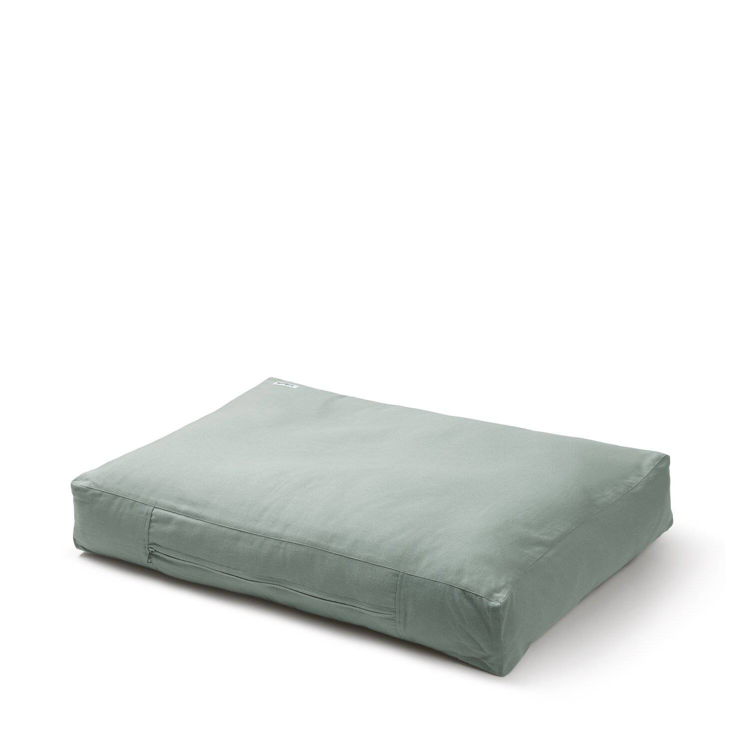 Mellow Green -  Cotton Canvas Box Bed - [Holler Brighton]