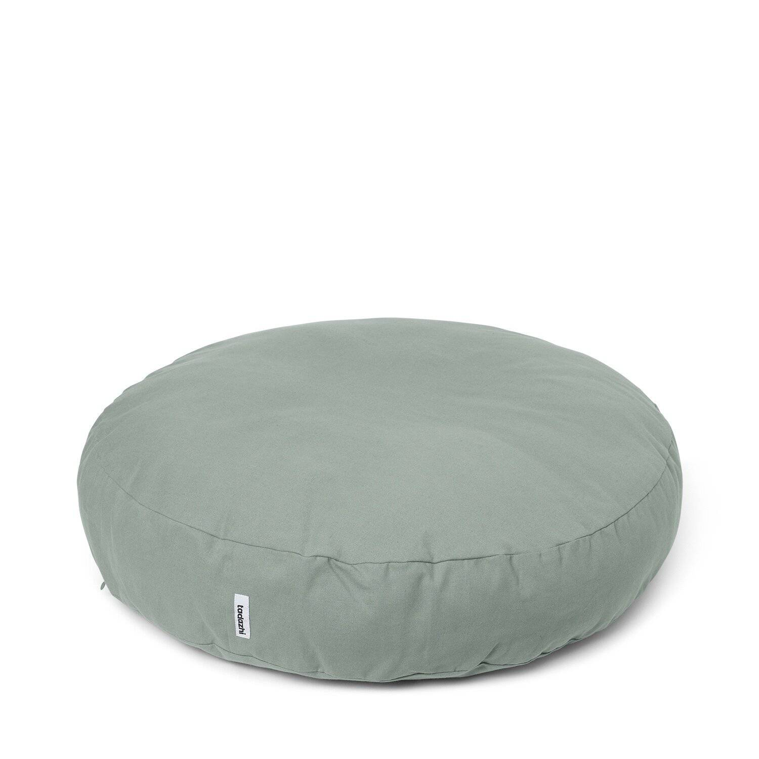 Mellow Green - Round Cotton Cushion Bed - [Holler Brighton]