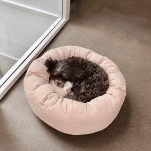 Powder Pink - Cotton Donut Bed - [Holler Brighton]