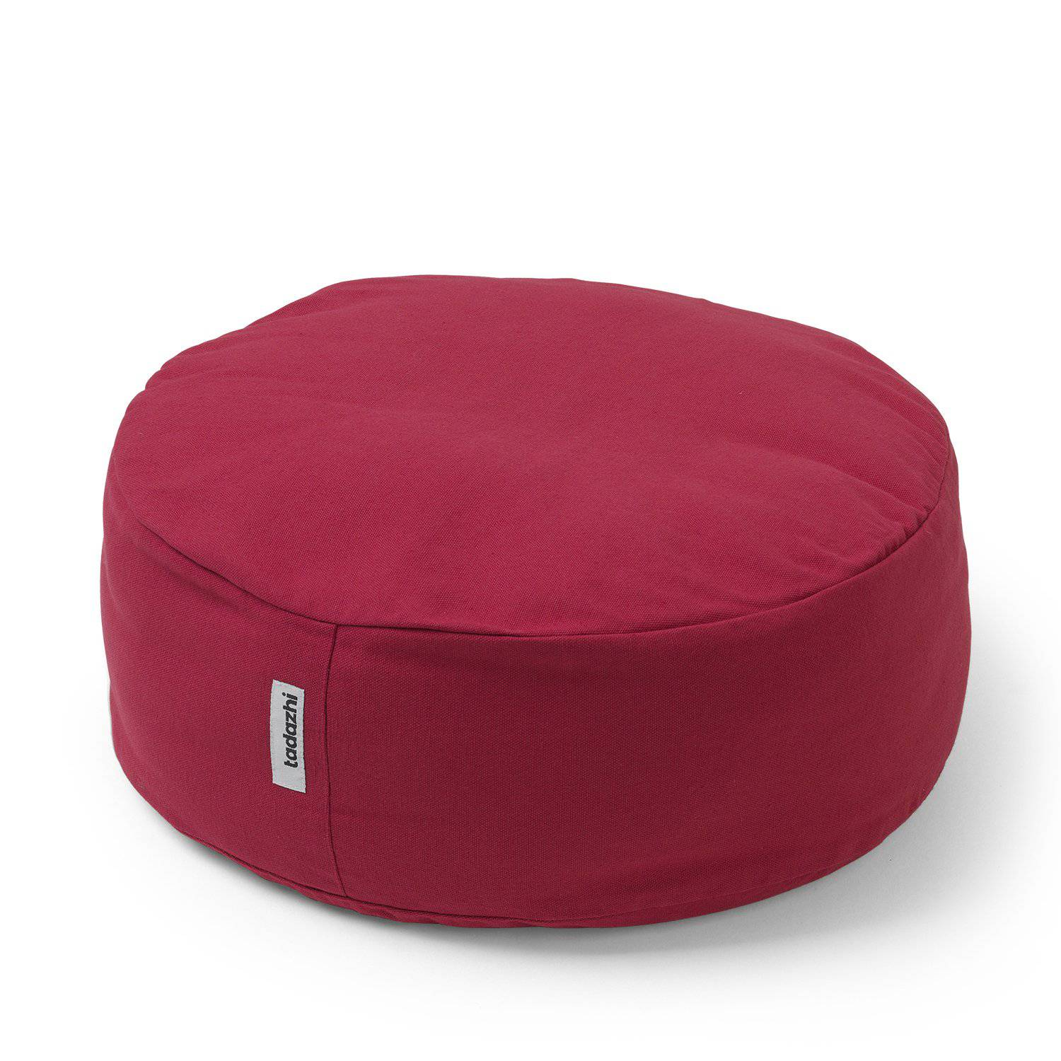 Red - Raised Circular Cushion Bed - Holler Brighton
