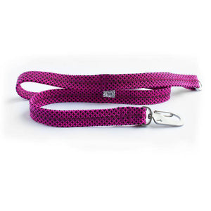 Fuchsia  Pink Fabric Lead & Steal Hardware - Holler Brighton