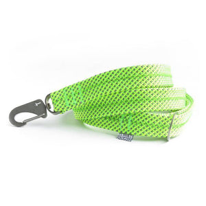 Lime Green Fabric Lead & Steal Hardware - Holler Brighton