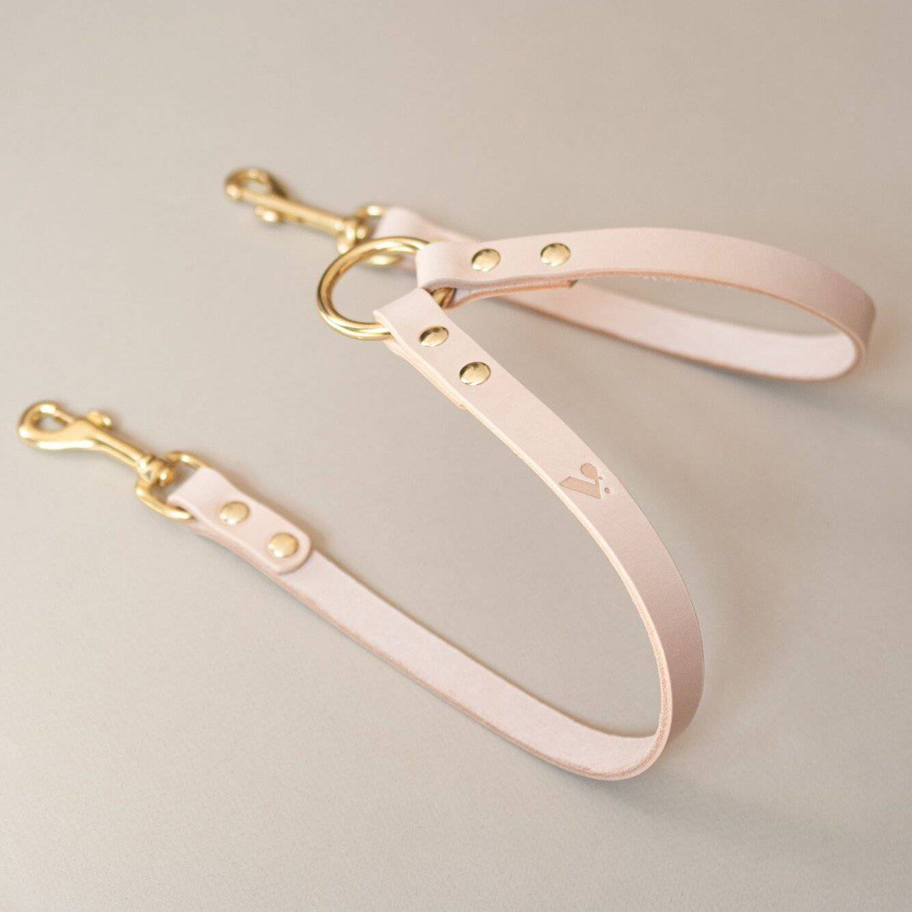 Nude - Leather Twin Lead Extension - Holler Brighton