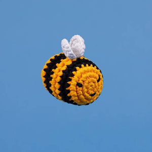 Bumble Bee Crochet Toy - Holler Brighton