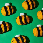 Bumble Bee Crochet Toy - [Holler Brighton]