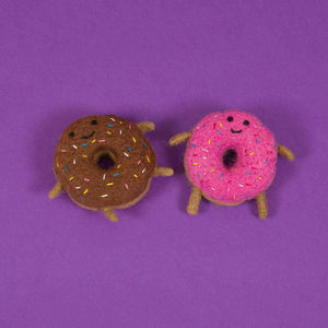 Donut Wool Toy - [Holler Brighton]