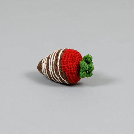 Strawberry Crochet Toy - Holler Brighton