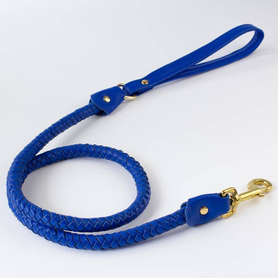 Blue - Plaited Lead - [Holler Brighton]