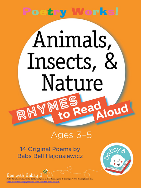 Poetry Works! Animals, Insects, & Nature: Rhymes to Read Aloud, Ages 3–5 (Digital Download)