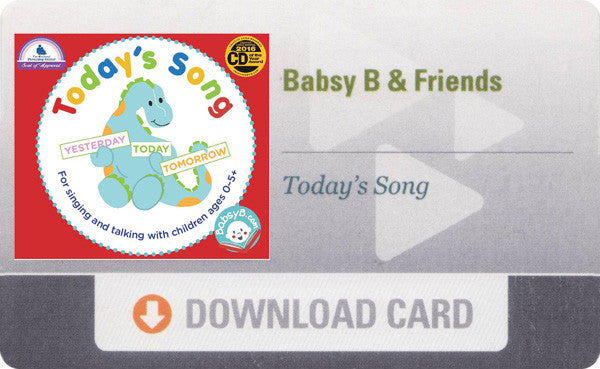 Today's Song (Download Card)