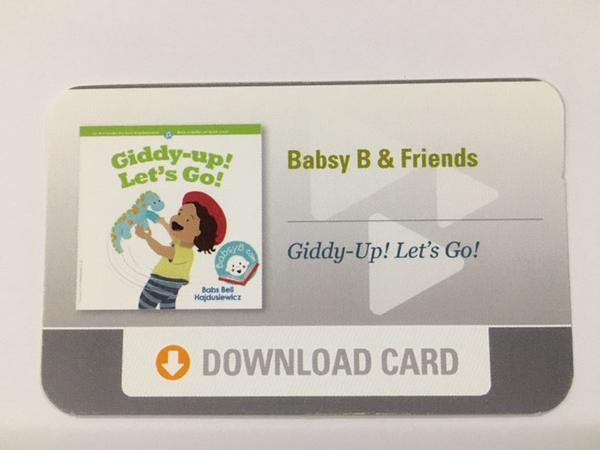 """Giddy-up! Let's Go!"" Download Card"