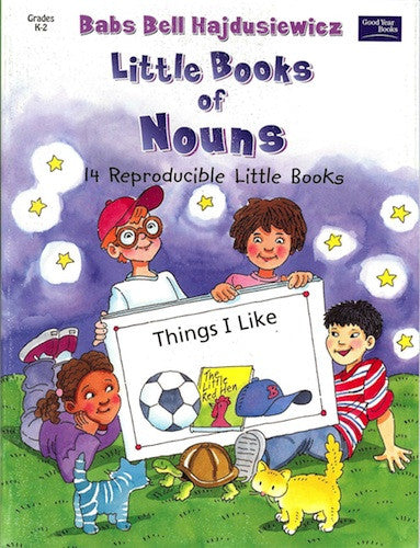 Little Books of Nouns - Activity Book