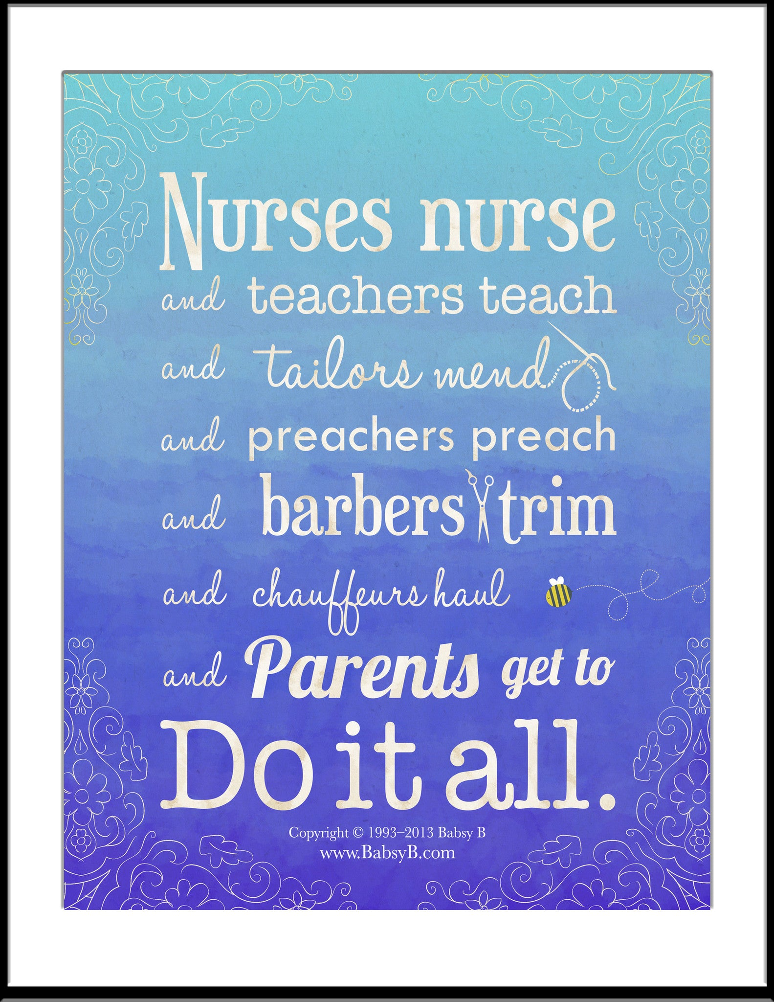 parents do it all poster babsy b