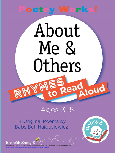Poetry Works! About Me & Others: Rhymes to Read Aloud, Ages 3–5  (Digital Download)