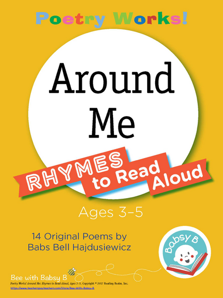 Poetry Works! Around Me: Rhymes to Read Aloud, Ages 3–5 (Digital Download)