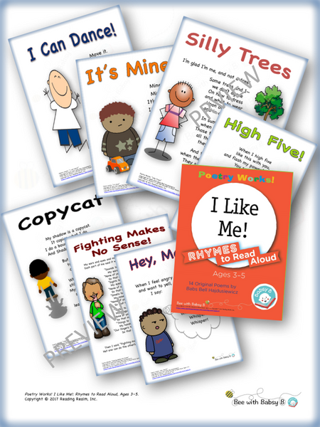 Poetry Works! I Like Me! Rhymes to Read Aloud, Ages 3–5 (Digital Download)