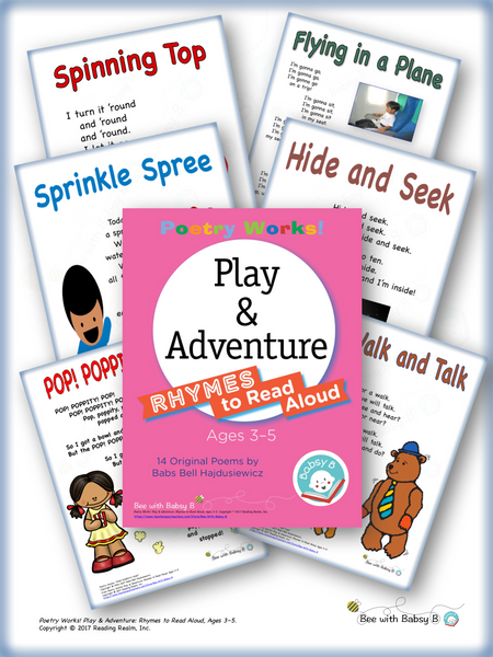 Poetry Works! Play & Adventure! Rhymes to Read Aloud, Ages 3–5 (Digital Download)