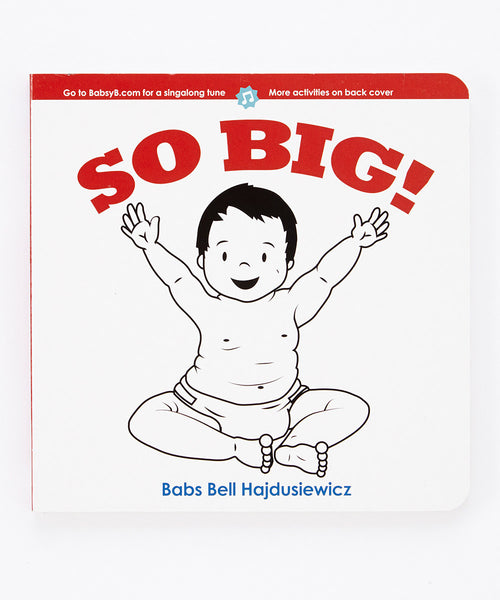 SO BIG!  - Duo Set: Board Book & Song (age 0+)