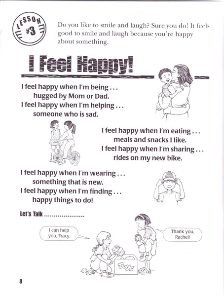 Sometimes I Feel Happy, Sometimes I Feel Sad  - Activity Book