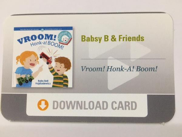 """VROOM! Honk-a! BOOM!"" Download Card"