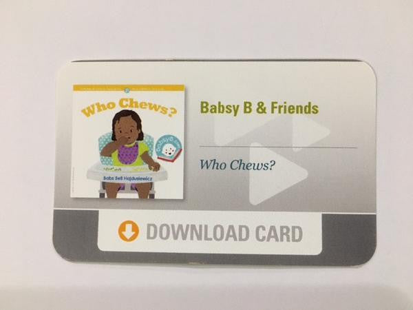 """Who Chews?"" Download Card"