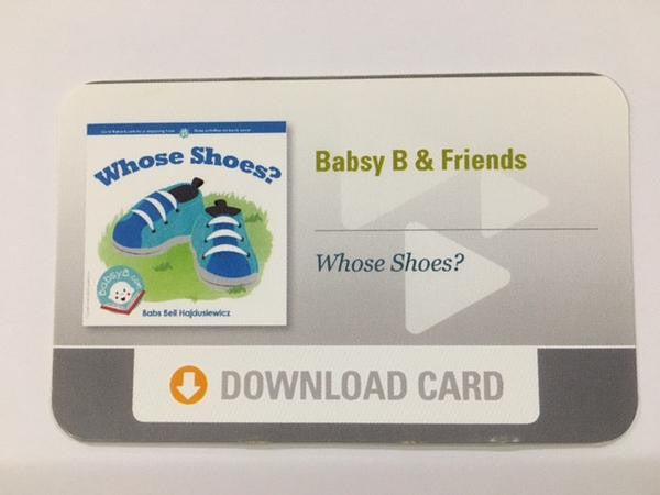 """Whose Shoes?"" Download Card"