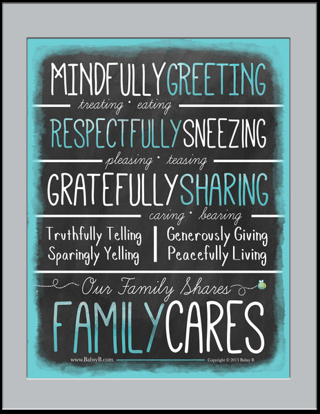 Family Cares - Poster