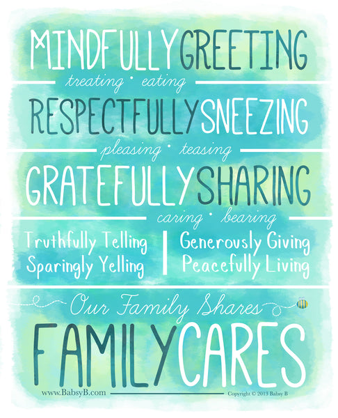 Family Cares- Green