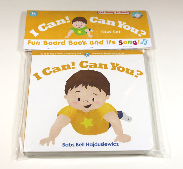 I Can! Can You? –– Duo Set: Book & Song (age 1+)