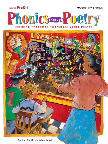 Phonics Through Poetry  - Activity Book