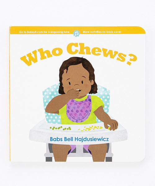 Who Chews? – Duo Set: Board Book & Song (age 1+)