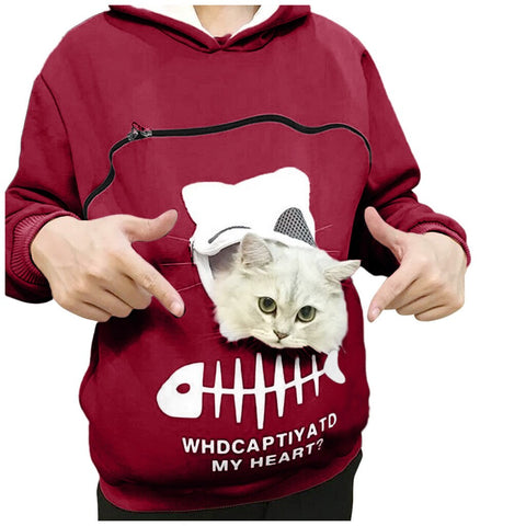 Pets Pouch Hoodie