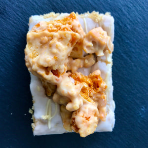 White Chocolate Honeycomb Blondie