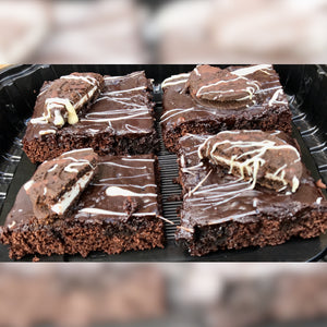Chocolate Oreo Brownies