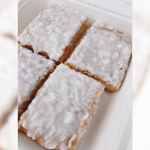 Coconut Iced Blondies