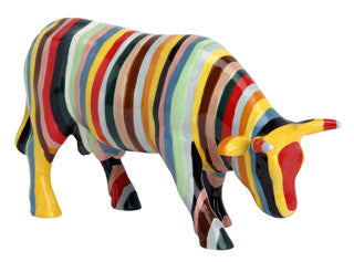 Cow Parade Striped