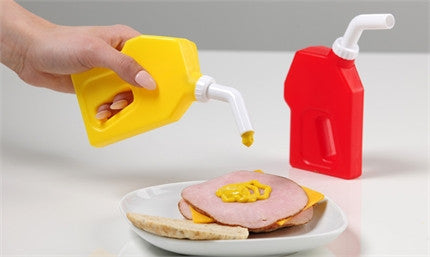 Condiment Bottles- Gas Can