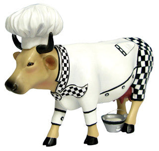 Cow Parade Chef Cow