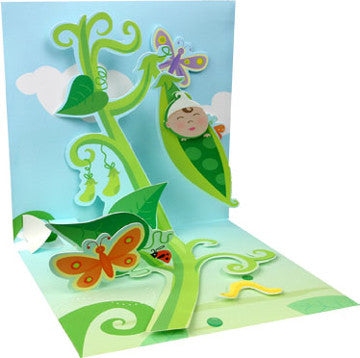 Pea In Pod Pop up card