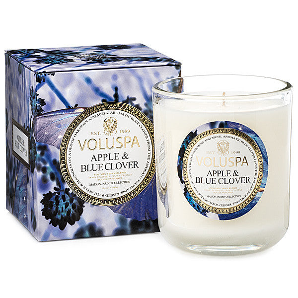 Apple and Blue Clover - Classic Maison Candle