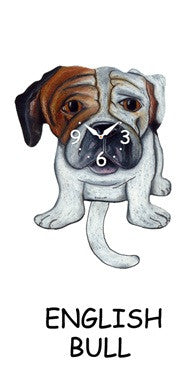 Clock English Bulldog