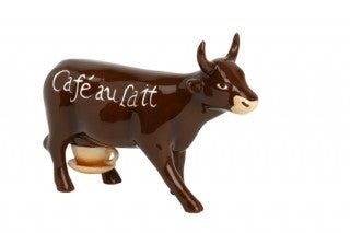 Cow Parade Cafe Au Lait