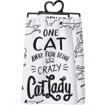 One Cat Away Towel
