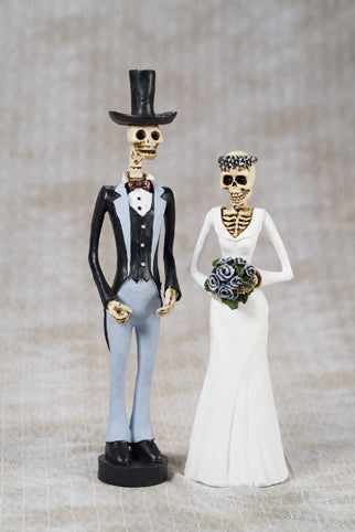 Day Of The Dead Bride & Groom