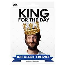 King of the Day Inflatable Crown
