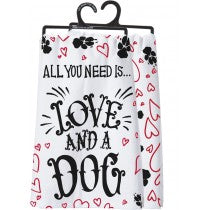 Love & A Dog Towel